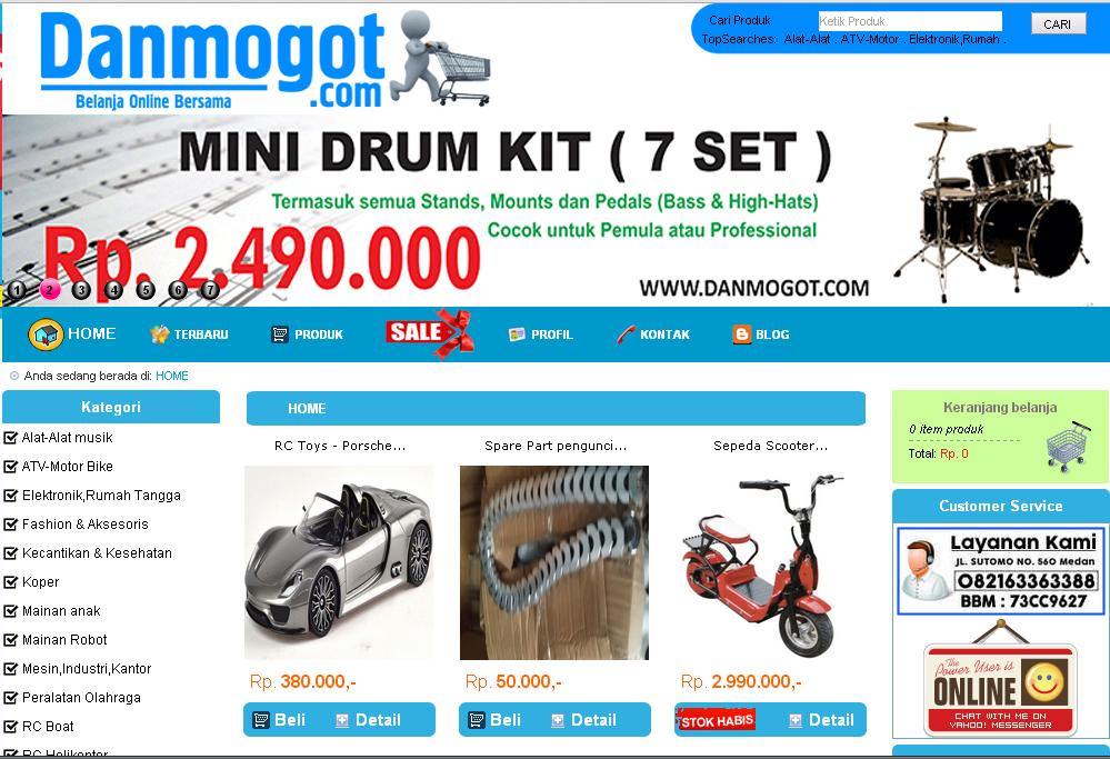 Danmogot Com Toko Online Murah Terbaik Di Indonesia Traffic Seo