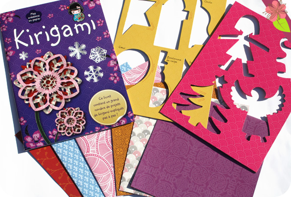 Mes créations en papier : Kirigami - éditions Kimane