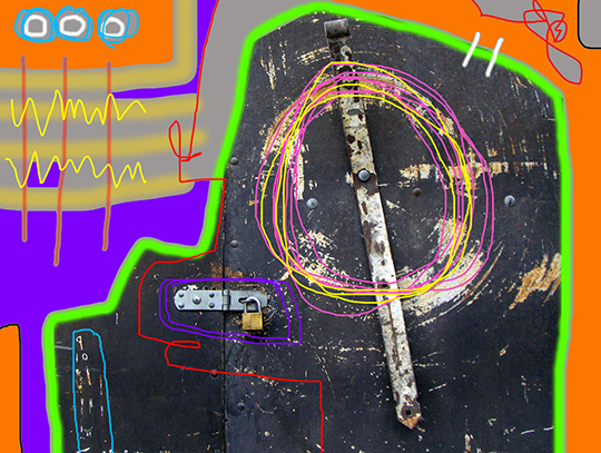 urban photography, digital painting, art, neo expressionism, abstract art, abstract, contemporary art, Sam Freek,