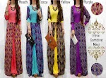 Gamis Spandex Etnic SOLD OUT