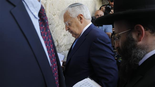 Anti-Palestinian Jewish attorney David Friedman arrives in Israel as new US envoy