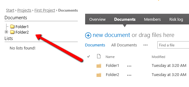 Create a lazy load SharePoint folder tree with jstree | haiquangitvn