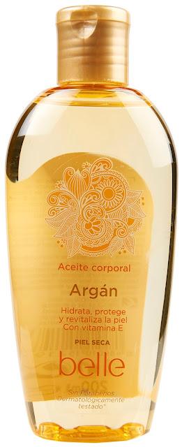 Aceite corporal de argán