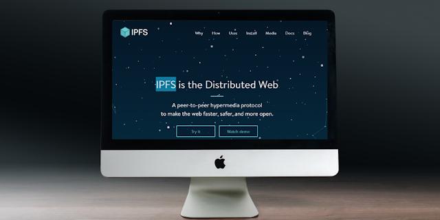 IPFS web estructura distribuida imagen
