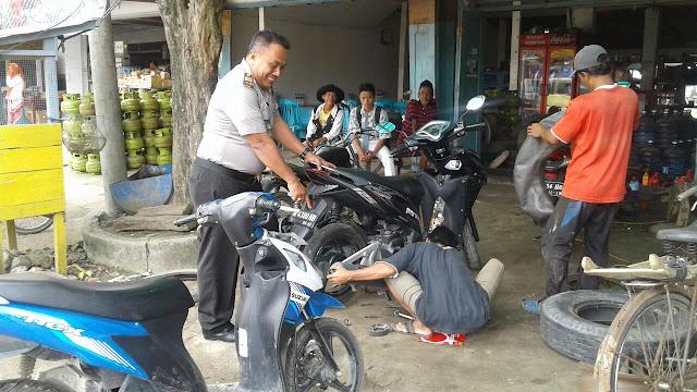 Polres Bangkalan Himbau Bengkel Sepeda Motor Tidak Melayani Pasang Knalpot Bronk