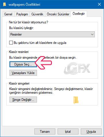 Windows 10'da Klasör Ön İzleme Resmini Değiştirme  - www.ceofix.com