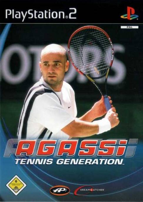 Agassi Tennis Generation PAL PS2