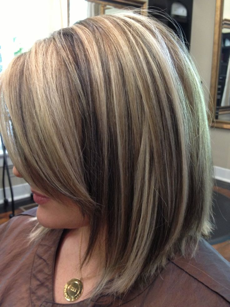 Bob Haircuts with Highlights Images and Video Tutorial