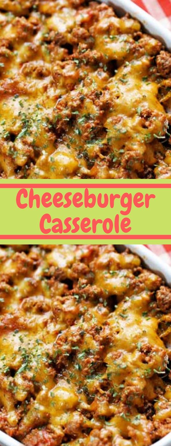 Cheeseburger Casserole #Cheeseburger #Casserole