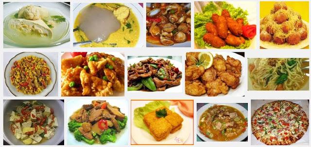 Koleksi resepi masakan lauk kuih yang sedap