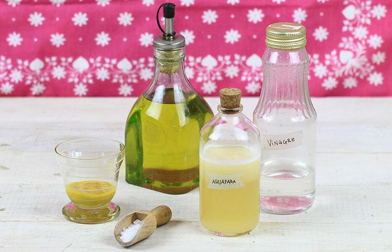 Ingredientes para maionese sem ovo