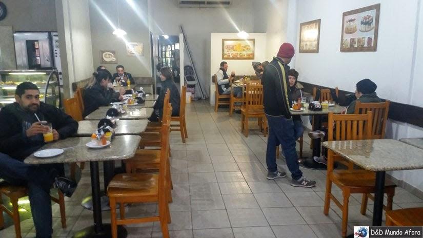 Onde comer barato em Foz do Iguaçu: Doce Pão - Panificadora e restaurante Doce Pão
