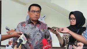 Prabowo Buka Posko Dekat Rumah Jokowi, Moeldoko: Ganggu Pemandangan