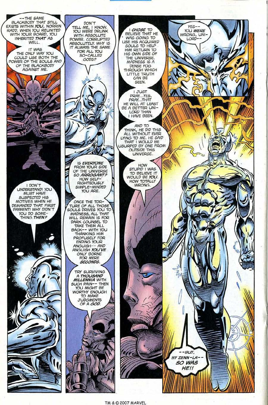 Read online Silver Surfer (1987) comic -  Issue #121 - 20