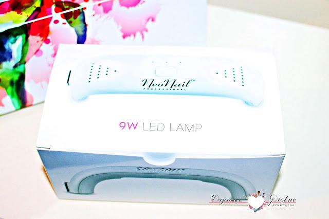 Zestaw Starter Set NeoNail z lampą 9 W | Mini Lampa LED 9 W - biała + zasilacz przewodowy 12 V - 0.8 A
