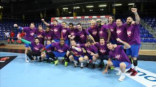 BALONMANO - El Barcelona Lassa mantiene su invicto y es campeón de su 24ª Liga Asobal
