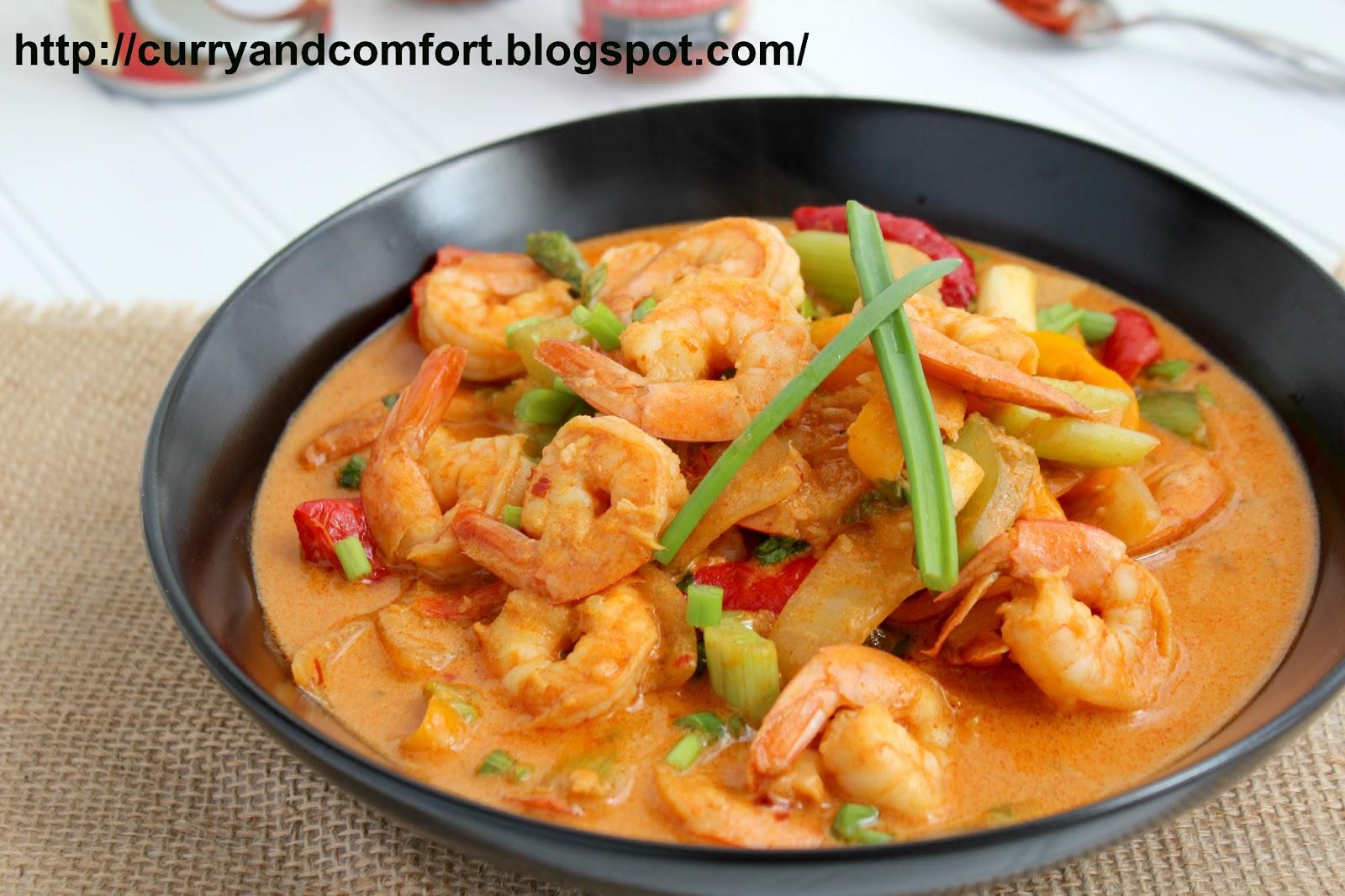 Magnificent Kitchen Simmer Thai Kitchen Red Curry Shrimp Interior Design Ideas Clesiryabchikinfo