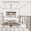 Best sketsa interior design