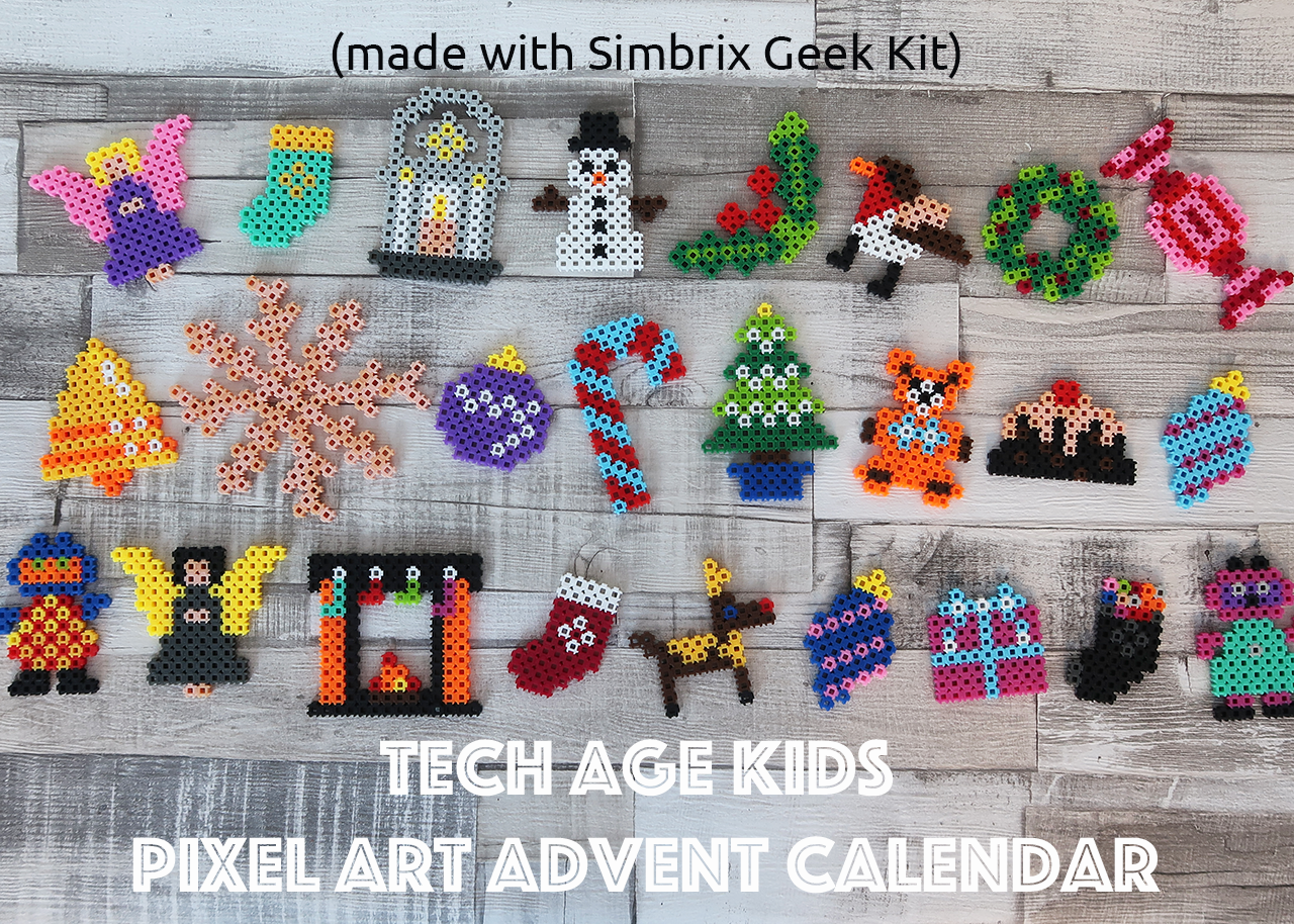 New Kits for Simbrix Pixel Art and Puzzles
