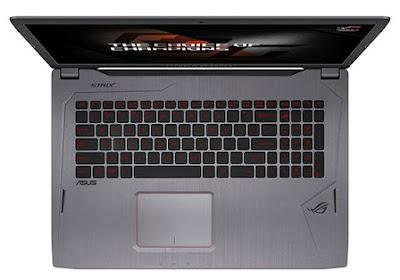 Spesifikasi dan Harga Laptop Asus ROG Strix GL502VM