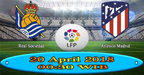 Prediksi Bola855 Real Sociedad vs Atletico Madrid 20 April 2018