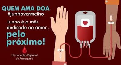 Regional do Sindpd em Araraquara inicia a campanha 'Doe Sangue, Doe Vida'