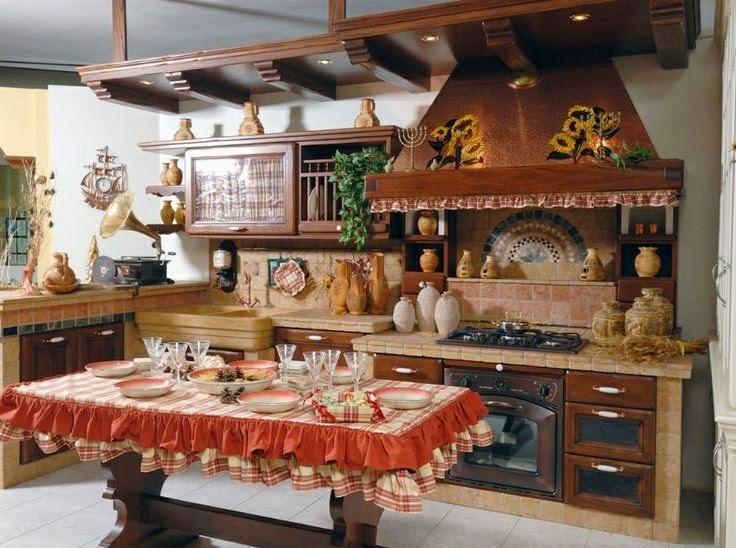 Il mio angolo nel mondo arredamento rustico per interni for Case particolari interni
