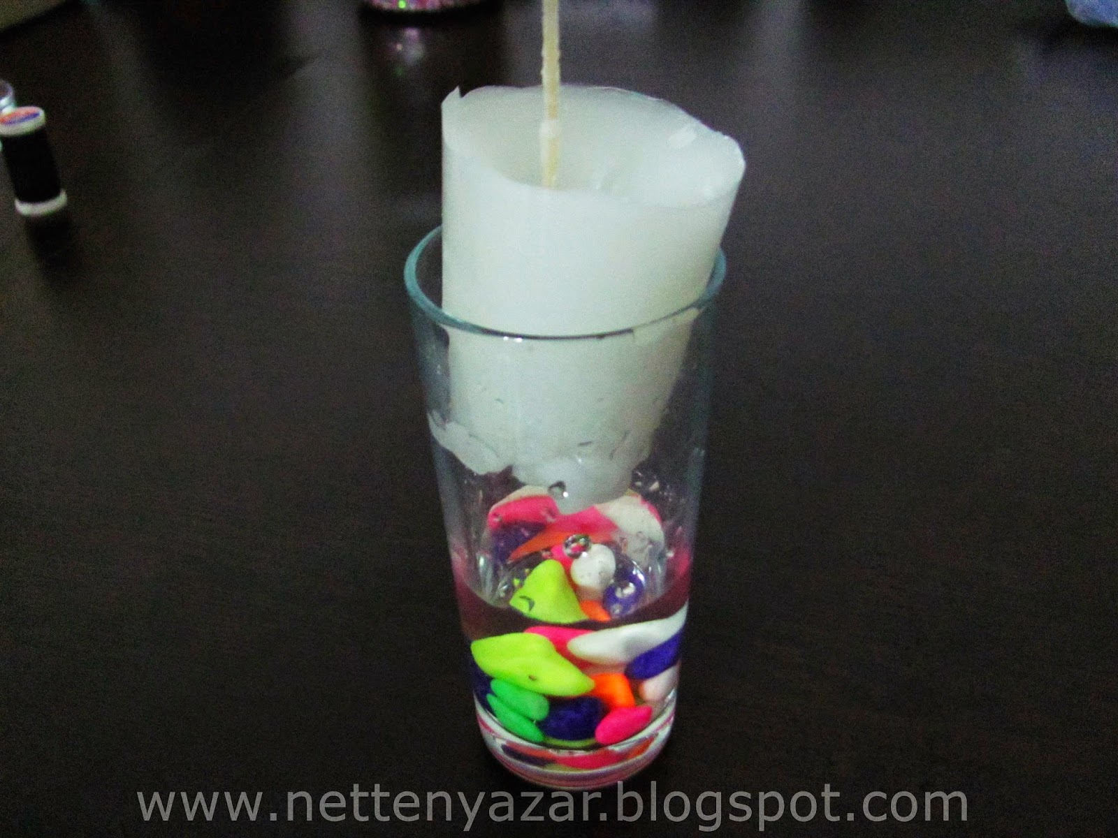 decorative candle making