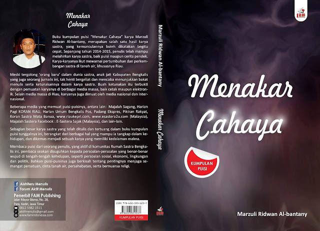 Buku kumpulan puisi Marzuli Ridwan Al-bantany berisi 137 judul puisi