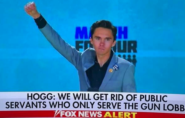"HOGG WILD! David Hogg Rallies Democrats in DC: ""If You Listen Real Close You Can Hear the People in Power Shaking"" (VIDEO)"
