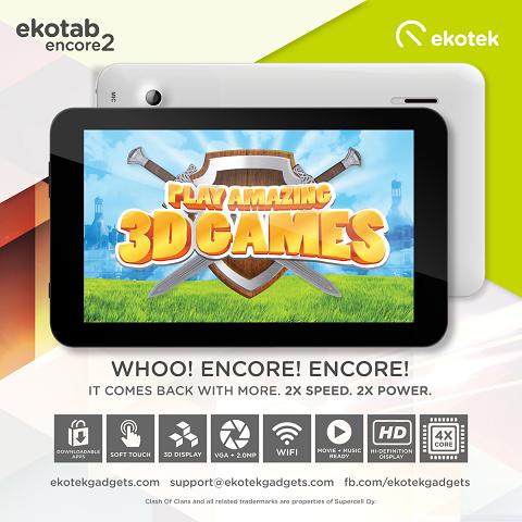 Ekotab Encore 2: Specs, Price and Availability