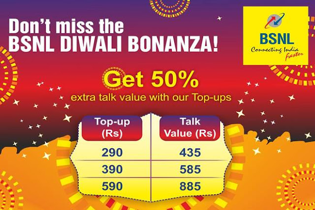 BSNL's Diwali 2017 Laxmi Offer