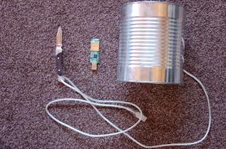 Antenna Wifi dari Kaleng Susu