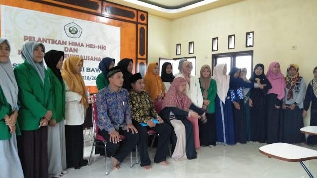 Pelantikan Pengurus HIMA Hukum Ekonomi Syariah STAIHA Bawean