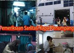sanitasi kapal penumpang