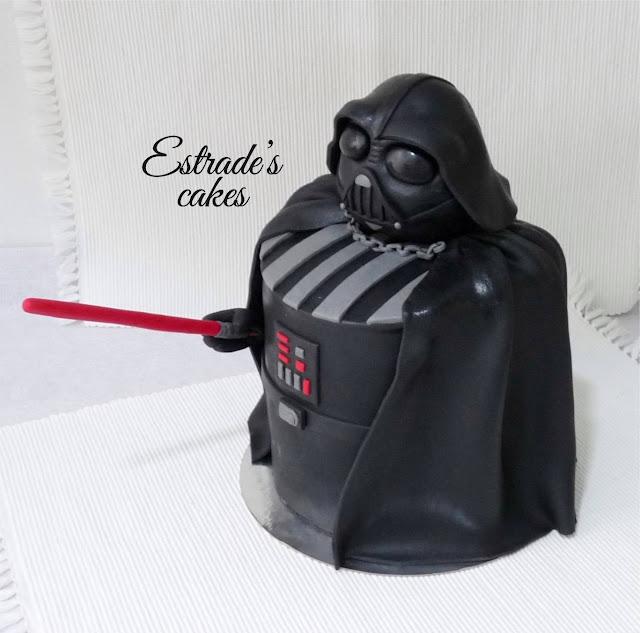 tarta de Darth Vader 2