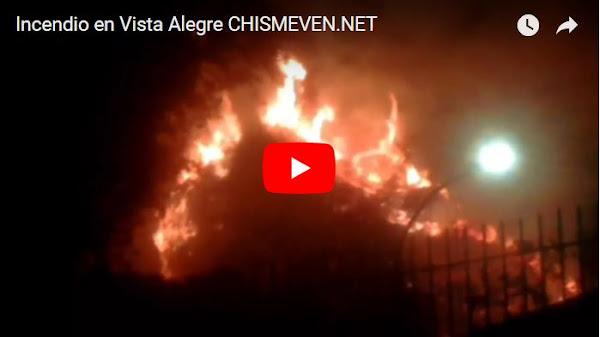 Incendio enorme en Vista Alegre ya amenaza casas y ranchos de la zona