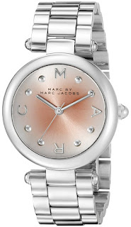 Sài Gòn: Đồng Hồ Nữ Marc By Marc Jacobs Women's Mj3447 Dotty Stainless Steel Bracelet Watch - 3