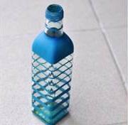 Diy vas bunga dari botol bekas