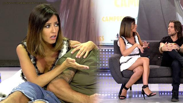Nuria Marín, vestido blanco en 'Sálvame'