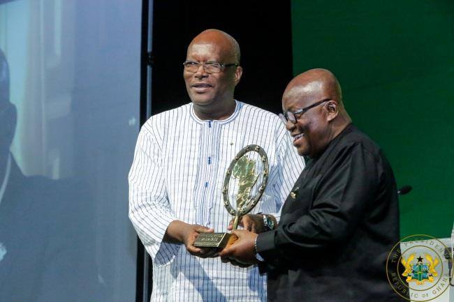 President Akufo-Addo Receives 2018 Governance Leadership Award.