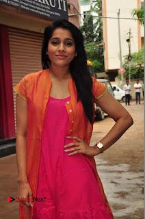 Rashmi Gautam Pictures in Pink Salwar Kameez at Akshara Kalasam Event