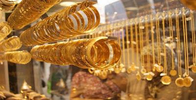 أسعار الذهب تتراجع, رغم توقعات بارتفاعها,