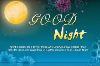 Good Night Motivational Quotes Image
