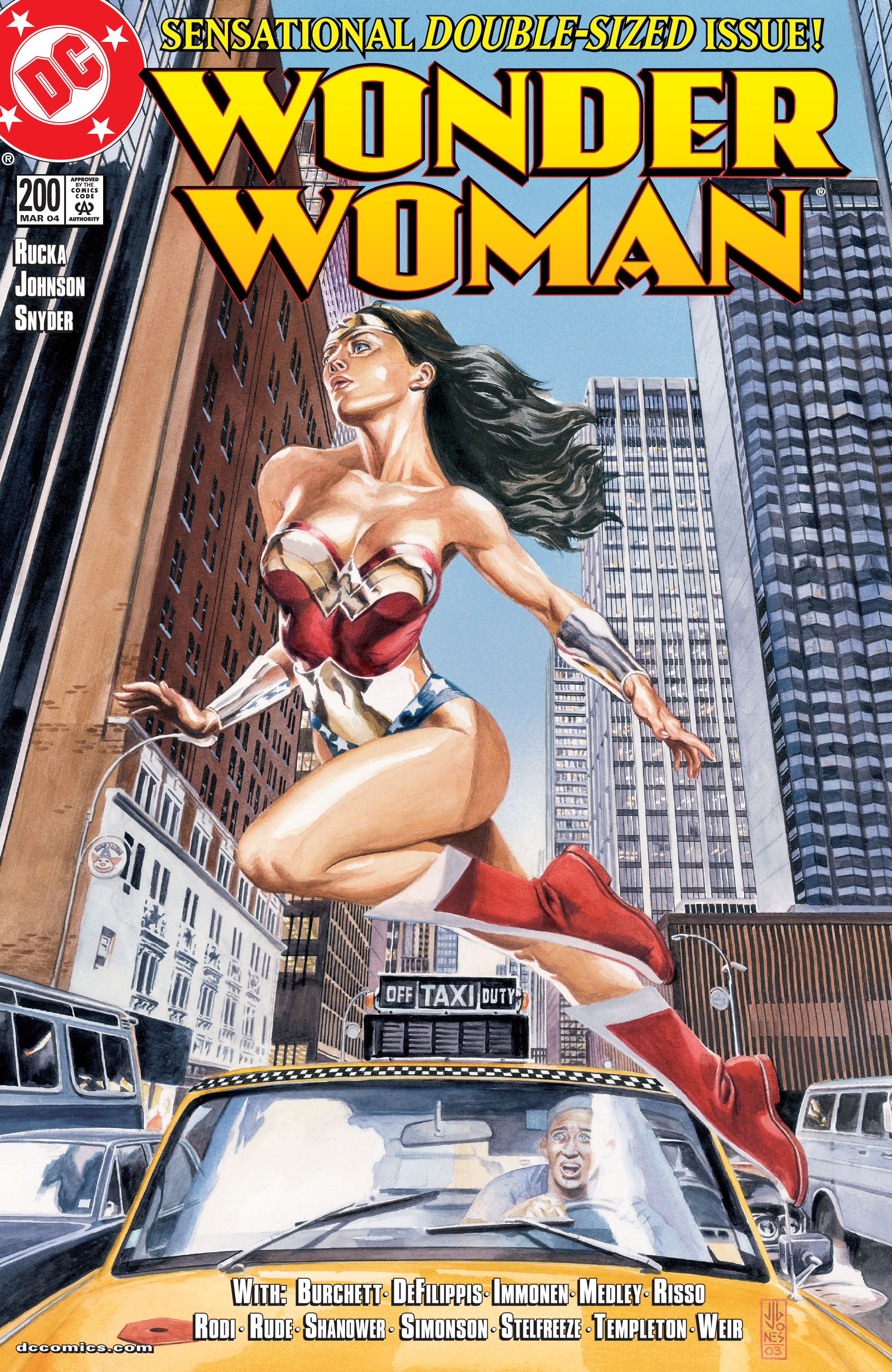 Read online Wonder Woman (1987) comic -  Issue #200 - 1