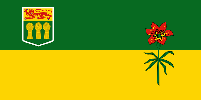 Saskatchewan Provincial Flag