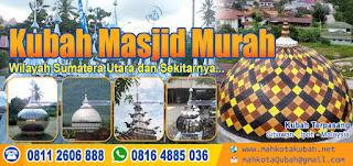 kubah masjid murah sumatera utara