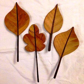 Wow! Seni Kerajinan DAUN dari KAYU – DIY Wooden Leaf