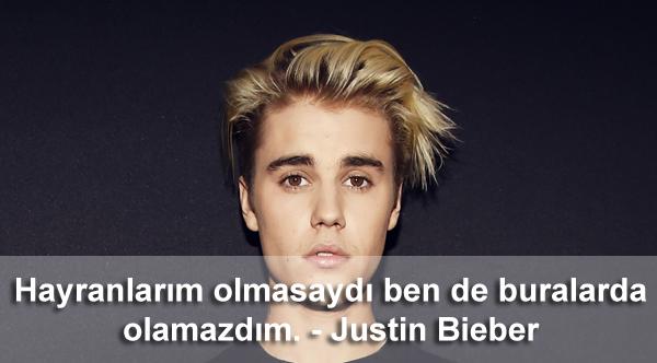 Anlamlı Justin Bieber Sözleri