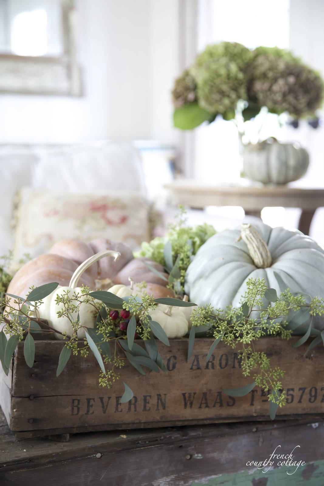 Simple Amp Sweet Autumn Display French Country Cottage
